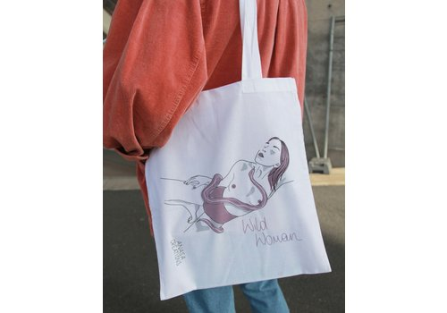Anasa Anasa - Wild Woman (Snake) - Tote Bag