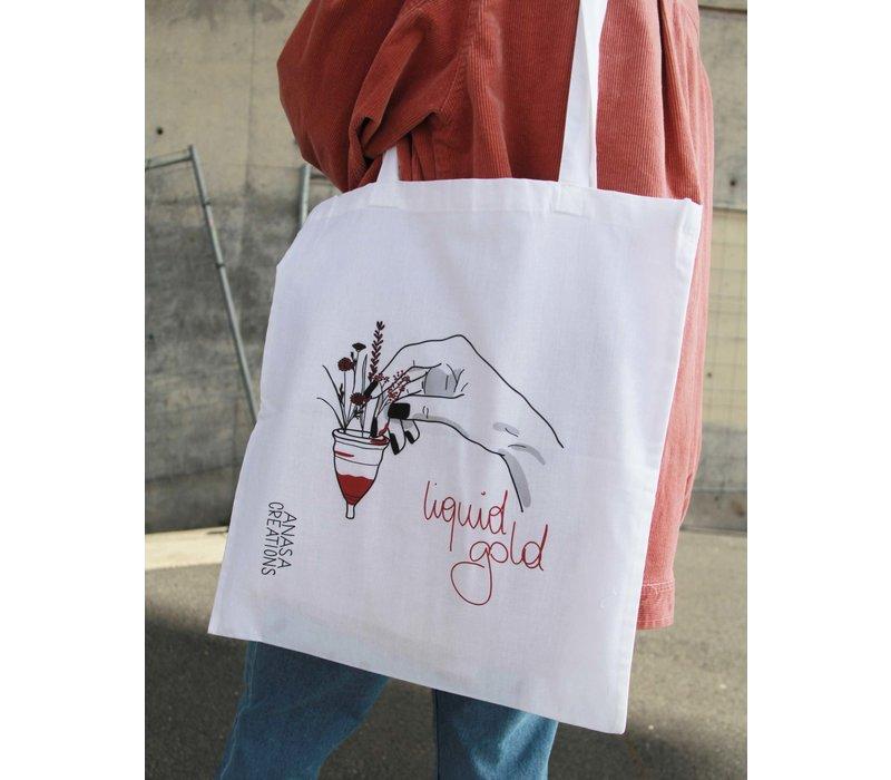 Anasa - Liquid Gold - Tote Bag
