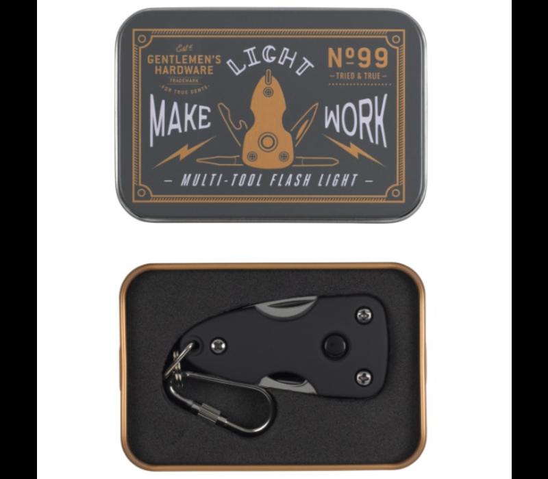 Gentlemen's Hardware - Pocket Multi-Tool with Flash Light