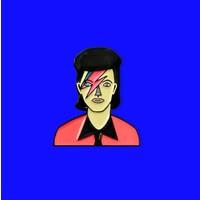 Judy Kaufmann - David Bowie - Pin