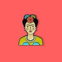 Judy Kaufmann - Frida - Pin