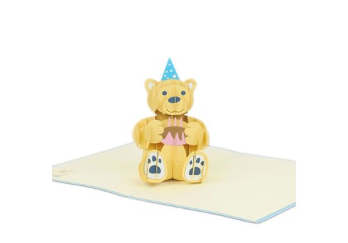 XiuXiu XiuXiu - Birthday Bear - Greeting Card