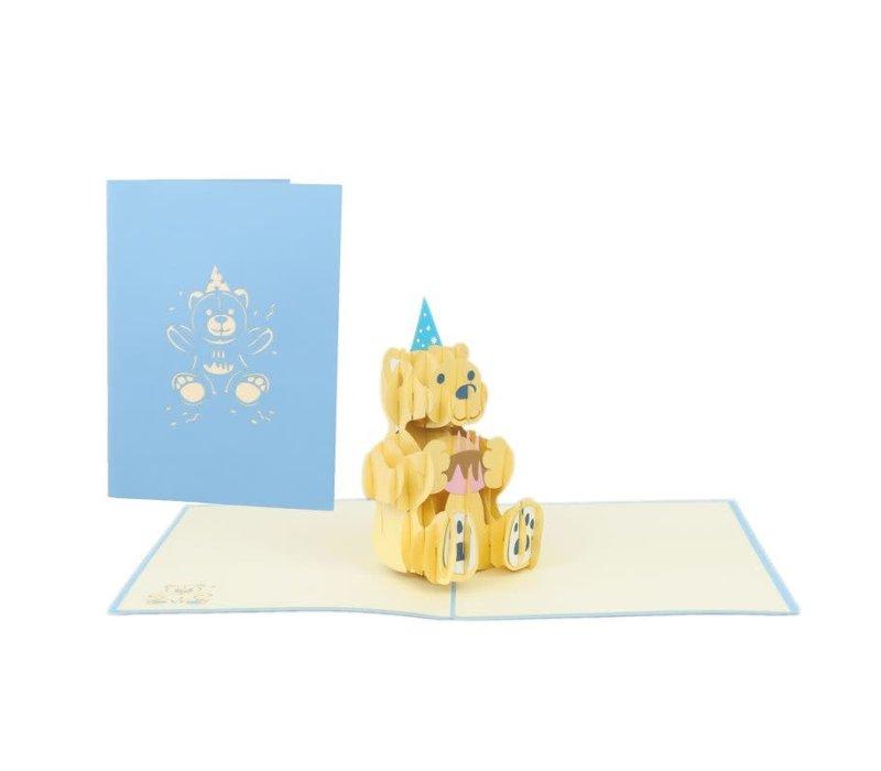 XiuXiu - Birthday Bear - Greeting Card