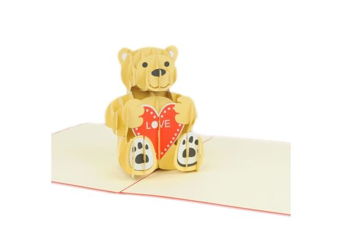 XiuXiu XiuXiu - Love Bear - Greeting Card