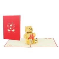 XiuXiu - Love Bear - Greeting Card