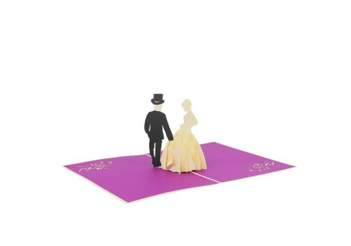 XiuXiu XiuXiu - Wedding Couple - Greeting Card