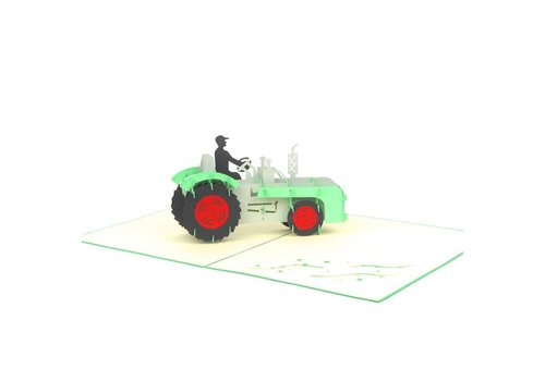 XiuXiu XiuXiu - Farm Tractor - Greeting Card