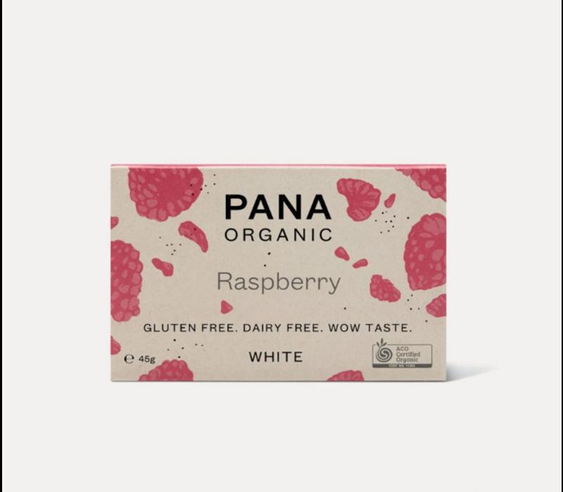 Pana Chocolate - White Raspberry - Chocolate Bar