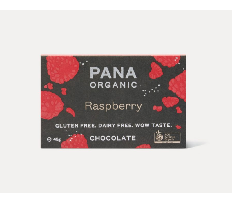 Pana Chocolate - Raspberry - Chocolate Bar
