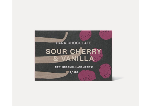 Pana Chocolate Pana Chocolate - Sour Cherry & Vanilla - Chocolate Bar