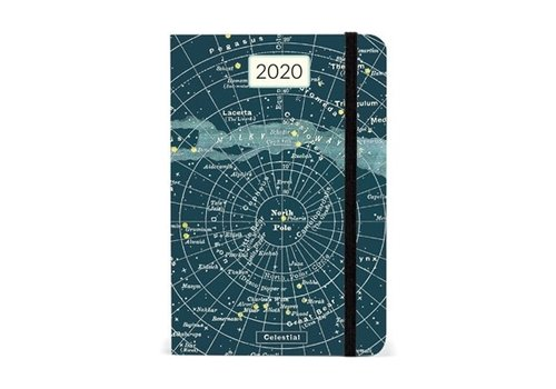 Cavallini Papers & Co Cavallini - 2020 Weekly Planner - Celestial