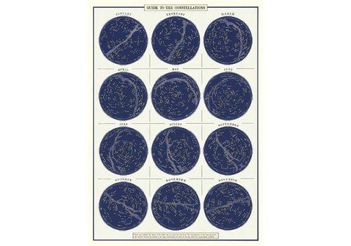 Cavallini Papers & Co Cavallini - Constellations Wrap / Posters