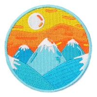 Mokuyobi - Mountain Sunrise - Patch