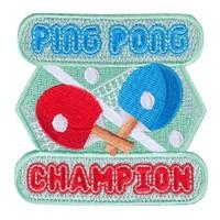 Mokuyobi - Ping Pong Champion - Patch