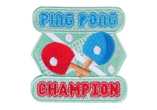 Mokuyobi Mokuyobi - Ping Pong Champion - Patch