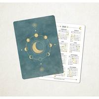 Maria Rikteryte - 2020 Mini Lunar Calendar (Design 1)