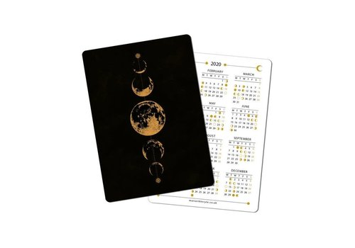 Maria Rikteryte Maria Rikteryte - 2020 Mini Lunar Calendar Design 2