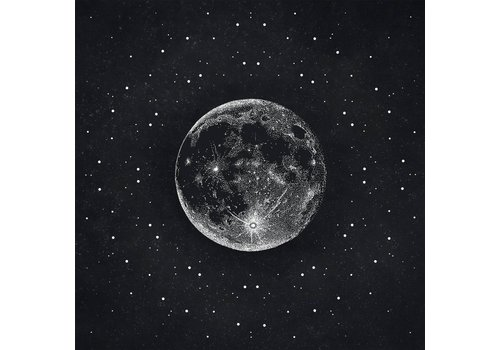 Maria Rikteryte Maria Rikteryte - Silver Moon - Giclée Print