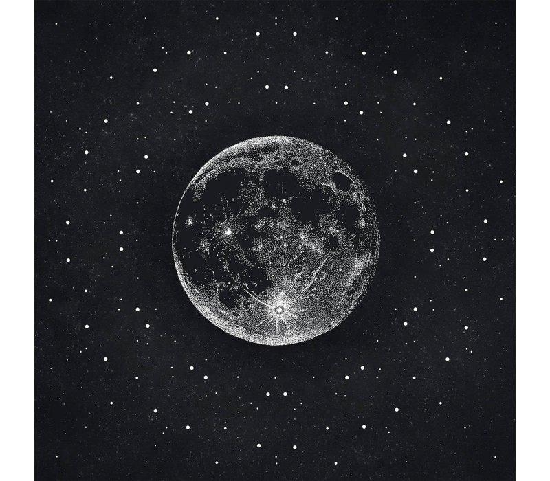 Maria Rikteryte - Silver Moon - Giclée Print