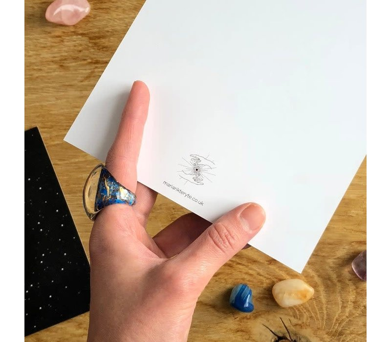Maria Rikteryte - Silver Moon - Mini Print