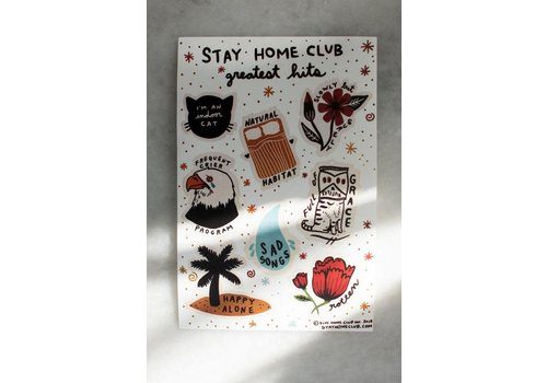 Stay Home Club Stay Home Club - Greatest Hits - Sticker Sheet