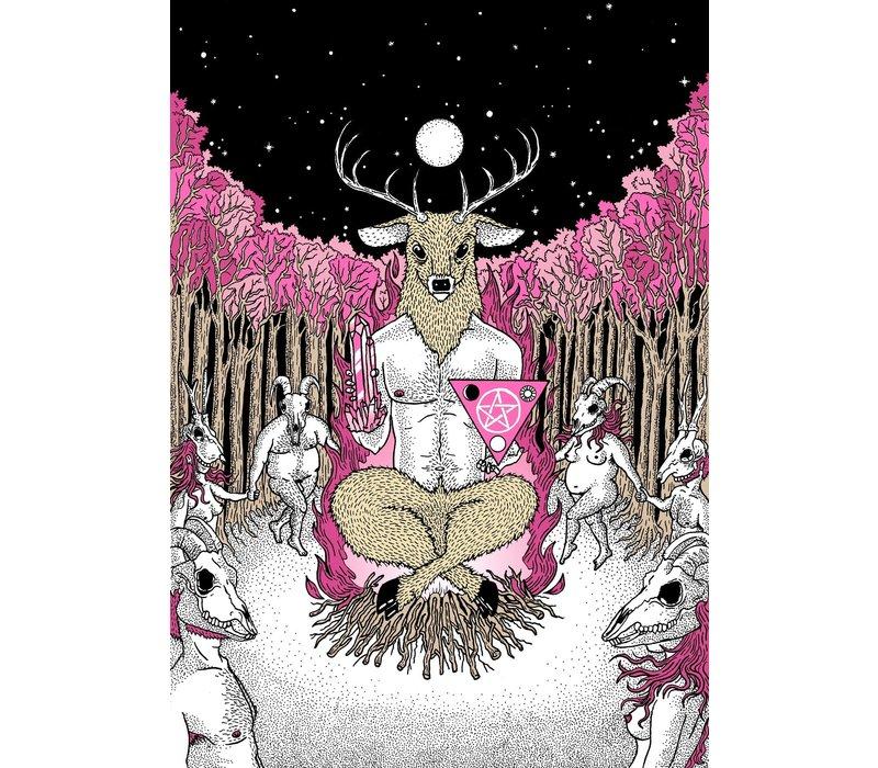 Rapha Hu - Ceremony  - A4 Print
