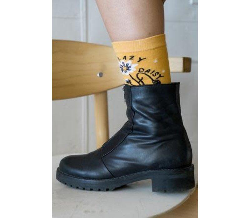 Stay Home Club - Lazy Daisy - Socks