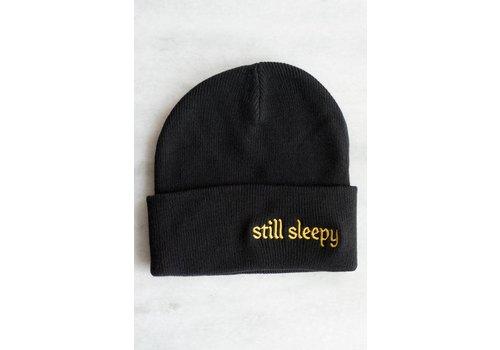 Stay Home Club Stay Home Club - Still Sleepy - Embroidered Beanie