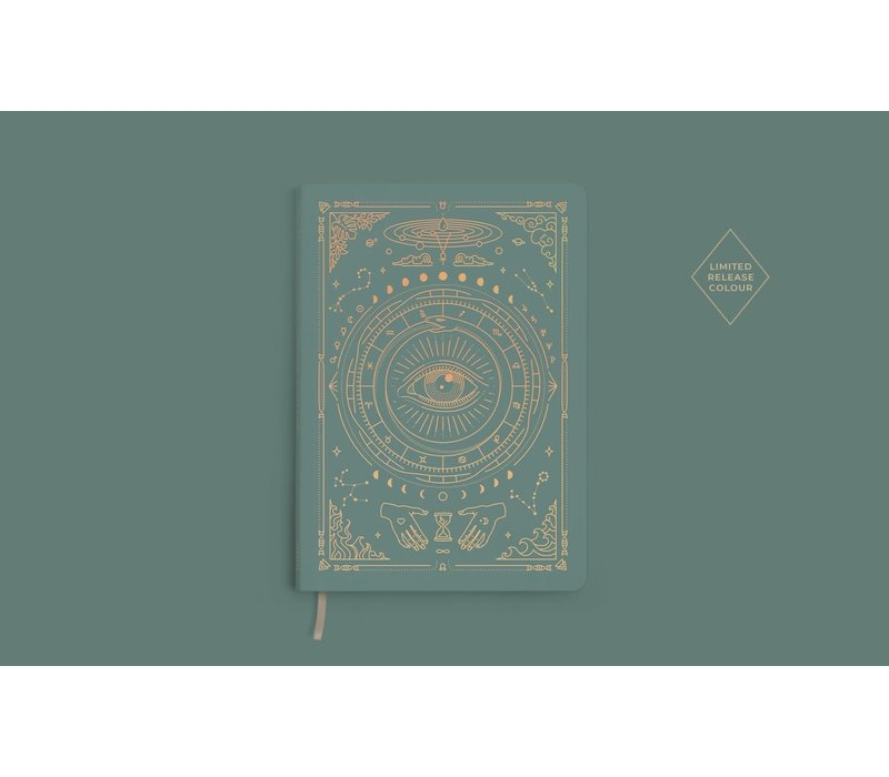 Magic of I - Vegan Leather Journal - Teal