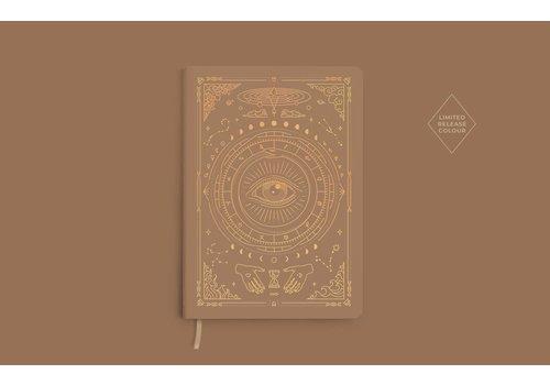 Magic of I Magic of I - Vegan Leather Journal - Fawn Brown