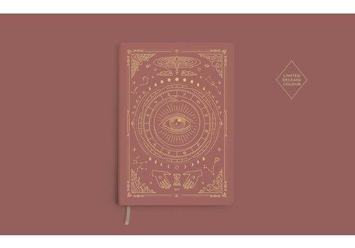 Magic of I Magic of I - Vegan Leather Journal - Coral Rose