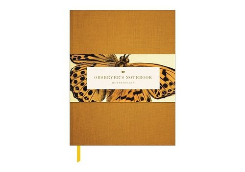 Princeton Architectural Press Observer's Notebook - Butterflies