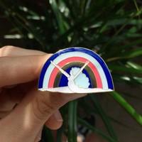 Lisa Junius - Rainbow Woman Pin