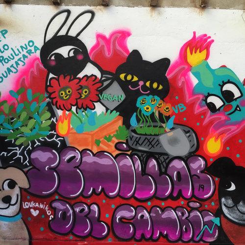 Grey Street conoce a la Ilustradora Vegan Bunny, Mujer Vegana Feminista, Antifascista y Antiracista  (Entre mil cosas más)