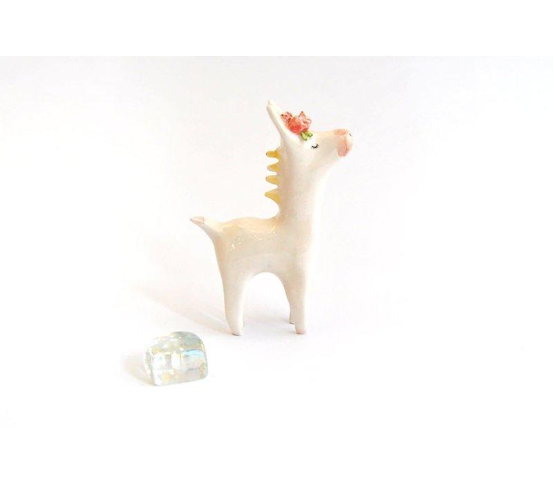 Barruntando -  Flower Donkey - Pink