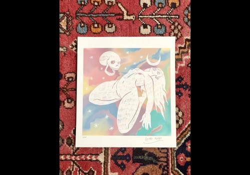 Carmen Seijas Hanako Mimiko - Midnight Conversation - Print