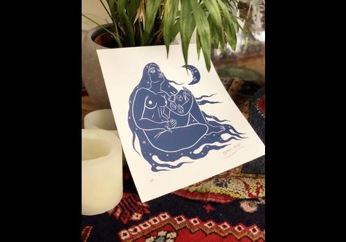 Hanako Mimiko Hanako Mimiko - Moonlight - Print