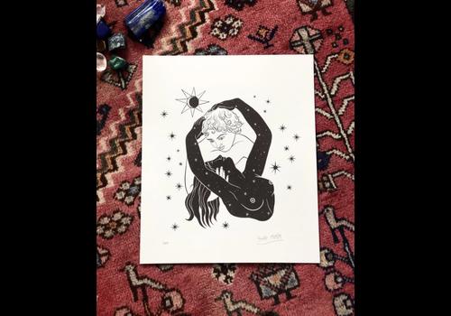 Hanako Mimiko Hanako Mimiko - El Beso - Print