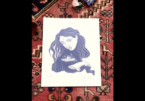Hanako Mimiko Hanako Mimiko - Observa - Print
