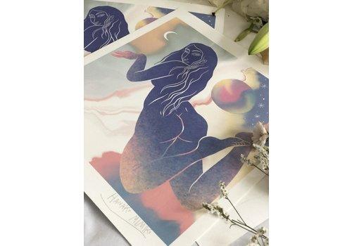 Hanako Mimiko Hanako Mimiko - Lucido II - Print