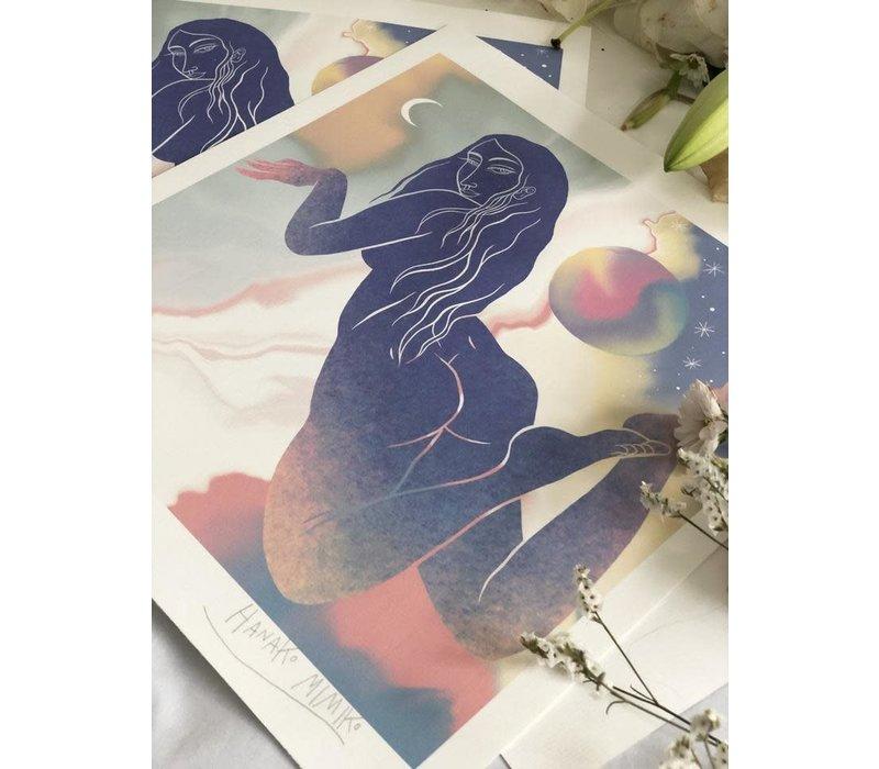 Hanako Mimiko - Lucido II - Print