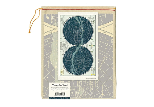 Cavallini Papers & Co Cavallini - Celestial - Tea Towel