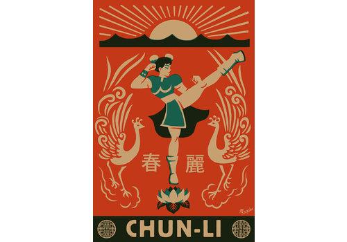 El Marquès El Marquès - Chun Li - Digital Print 47.6cm x 70cm