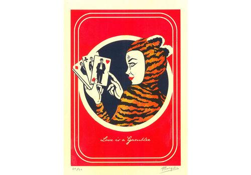 El Marquès El Marquès - Love is a Gambler - A3 Risograph