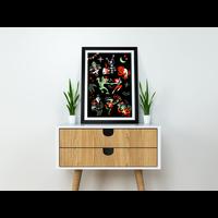 El Marques - Monsters - Screen Print