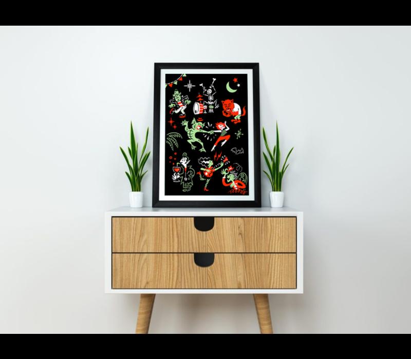 El Marquès - Monsters - Digital Print