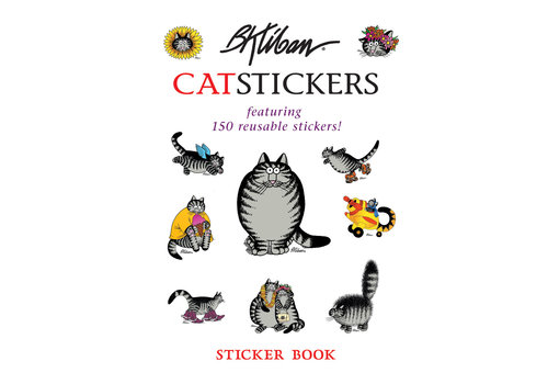 Pomegranate Pomegranate - B. Kliban's CatStickers - Sticker Book