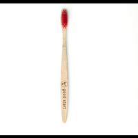 SUP - Bamboo Toothbrush - Hard Red