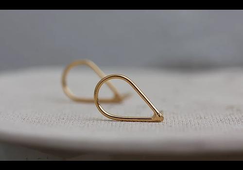 Âme Âme Jewels - Drop Earrings - Gold
