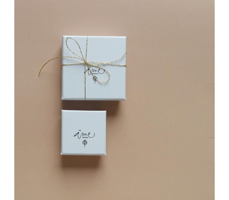 Âme Jewels - Gyan Mudra Necklace - Silver
